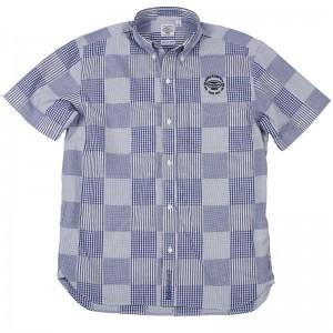 BHフェイクパッチワークSSBDシャツ-01